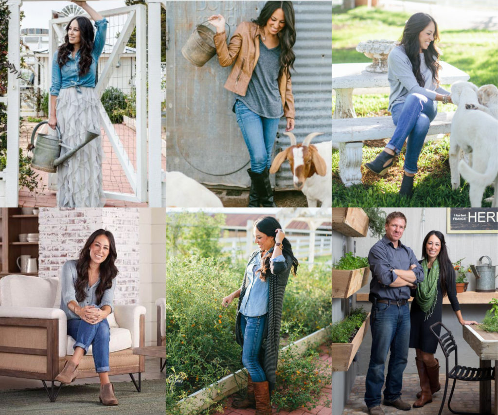 how to dress like joanna gaines a guide to her wardrobe hazel darling. Black Bedroom Furniture Sets. Home Design Ideas